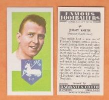 Preston North End Jimmy Smith 46
